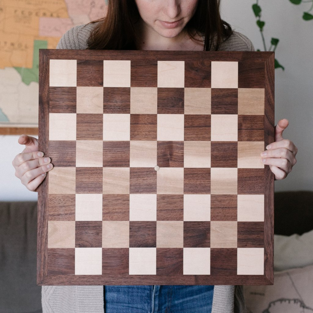 Bespoke Chess Board
