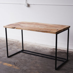 Spalted maple live edge desk - Wall Woodworking