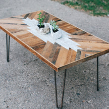 Southwestern reclaimed wood coffee table