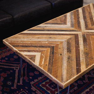 """Meet in the Middle"" Coffee table - Wall Woodworking"