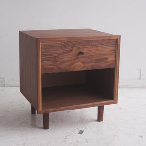 Mid-Century Side Table - Wall Woodworking