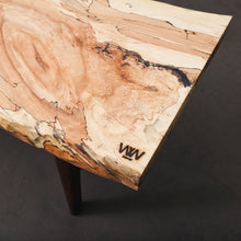 Spalted maple live edge coffee table