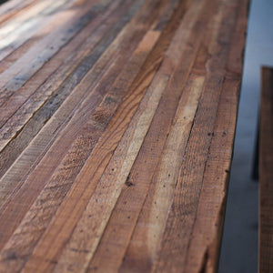 """Princeton"" Dining Table - Wall Woodworking"