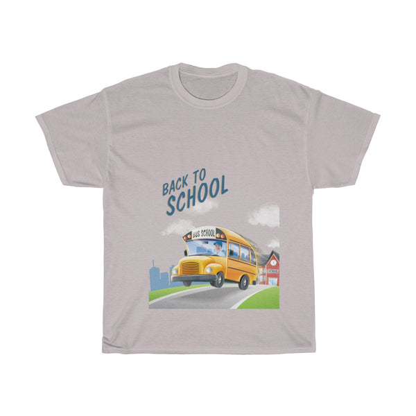 Heavy cotton Back to School T-shirt