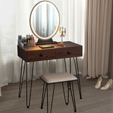 LIghted Makeup Dressing Table