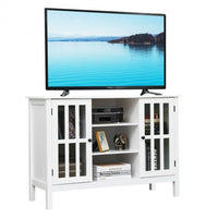 "Wood TV Stand Console Cabinet for 45"" TV"