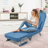 Sleeper Bed Armchair-Blue