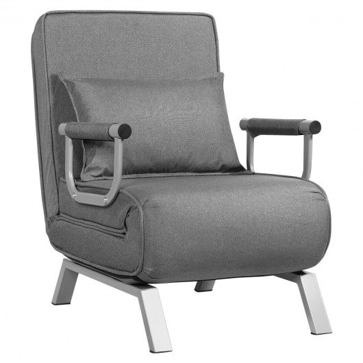 Sleeper Bed Armchair-Gray