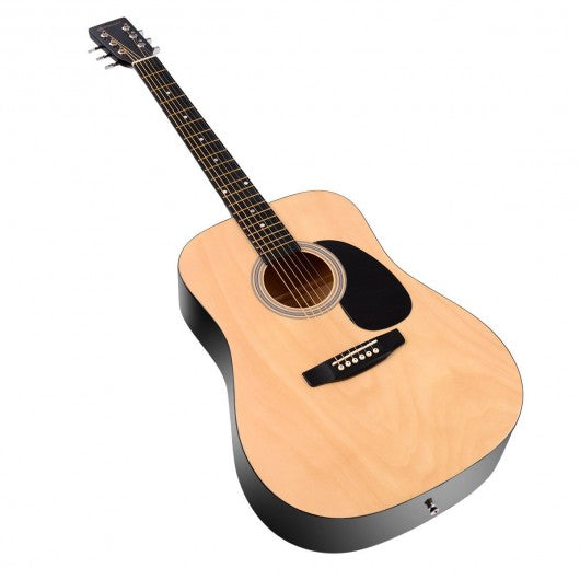 "Sonart 41"" 6 Strings Acoustic Folk Guitar-Natural"