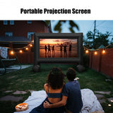 Inflatable Outdoor Movie Projector Screen with Blower-14'