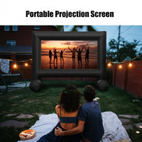 Inflatable Outdoor Movie Projector Screen with Blower-16 Feet