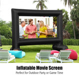Inflatable Outdoor Movie Projector Screen with Blower-18 Feet