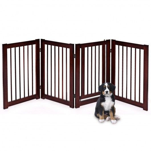 "30"" Configurable Folding 4 Panel folding Fence"