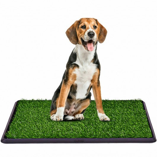 Utility Puppy Pet Potty Train Pee Dog Grass Pad