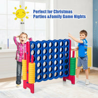 Jumbo 4-to-Score 4 in A Row Giant Game Set-Red
