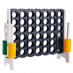 Jumbo 4-to-Score 4 in A Row Giant Game Set Outdoor/ Indoor