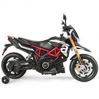 Aprilia Licensed 12V Kids Ride-On Motorcycle-Black