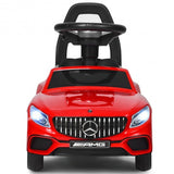 Licensed Mercedes Benz Kids Ride On Push Car-Red