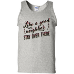 Socially distancing100% Cotton Tank Top