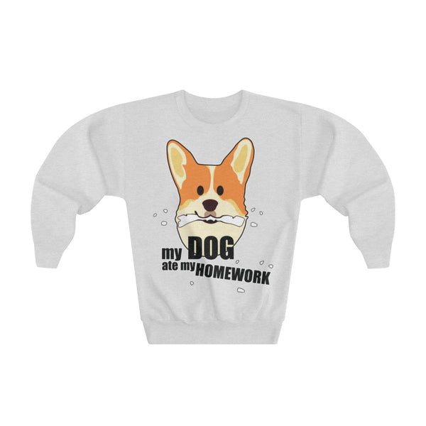 Dog ate My homework Long sleeve T-shirt