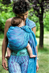 Kaya Woven Ring Sling - FEATHERS