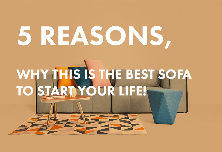 5 Reasons why this is the best Sofa to Start your life!