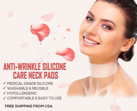Leah Naturals Anti wrinkle Silicone Neck Pads