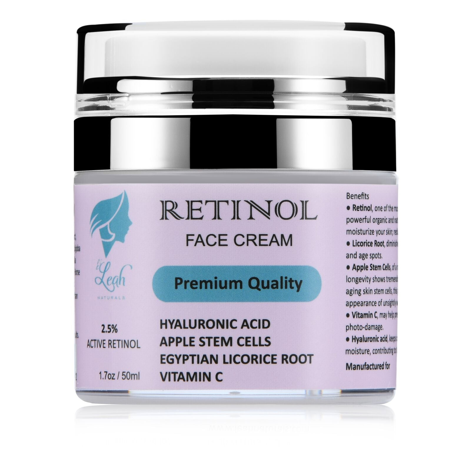 Retinol Face Cream 2.5%