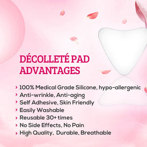 Decollette Chest Wrinkle Pad (Triangle Shape)