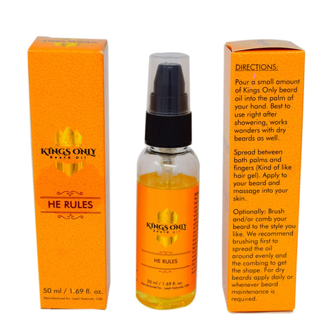 Kings Only Beard Care Oil, He Rules (50ml)