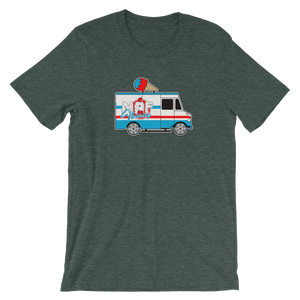 """Ice Cream Truck"" Short-Sleeve Unisex T-shirt"