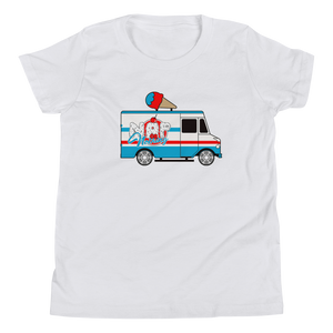 """Ice Cream Truck"" Youth Short Sleeve T-Shirt"