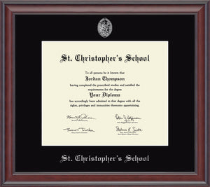 Diploma Frame in Studio