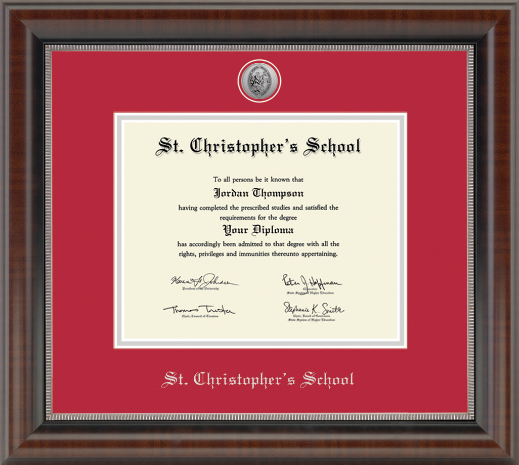 Diploma Frame in Chateau