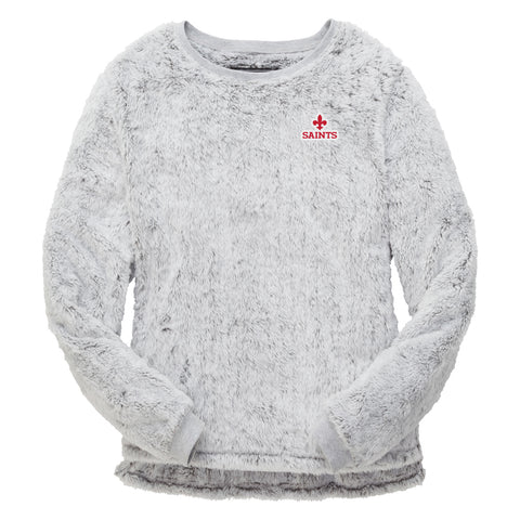 Women's Fuzzy Fleece Crew