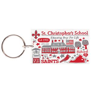 StC Wood Key Chain