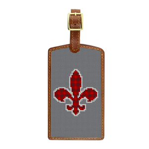 Needlepoint Luggage Tag