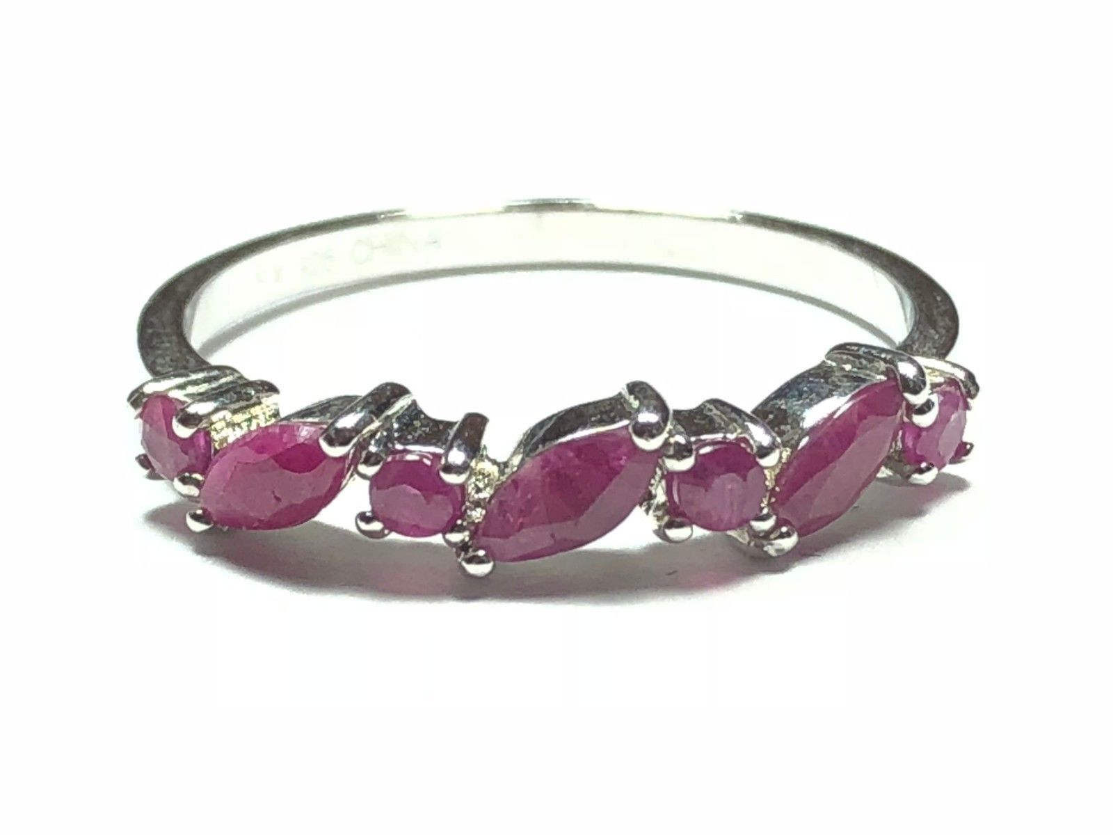 Beautiful Ladies Sterling Silver Ring - Purple Topaz - Must Have! - Size 9.25