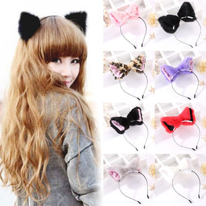 Plush Animal Ears Headband (Multiple Designs)