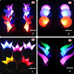 LED Headbands in Fun Styles (Multiple Colors Set of 3)