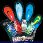Neon Laser Finger Beams (4 Count)