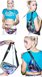 Holographic Fanny Pack (Multiple Colors)
