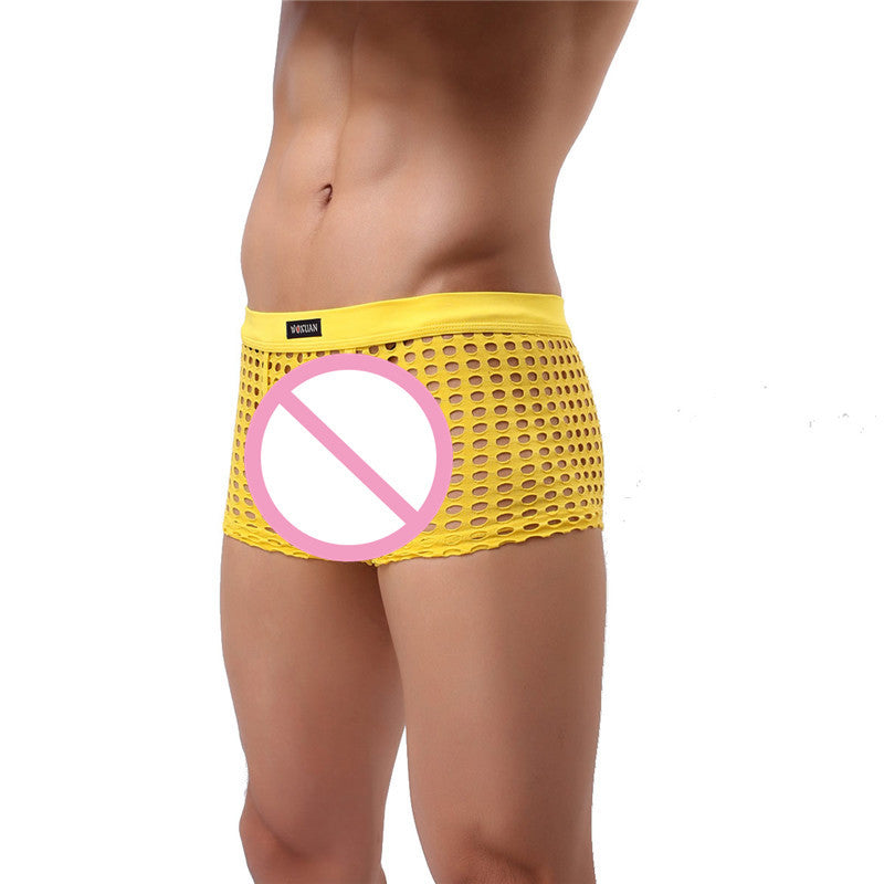 See-Through Thigh-Length Circuit Shorts (Multiple Colors)