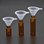 Acrylic Bullet/Bumper with Glass Vial (5 pcs)