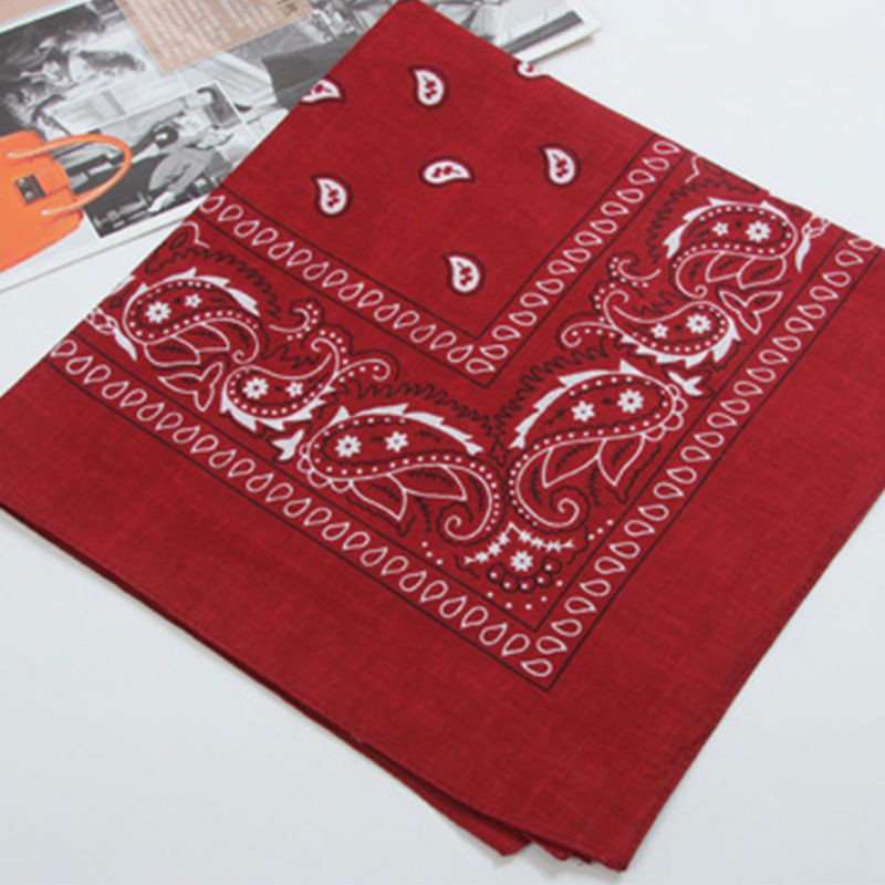 Cotton Paisley Bandanas Double Sided (3 Count)