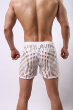 Men's See-Through Circuit Shorts (Multiple Colors)