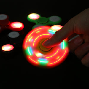 LED Fidget Spinner (Multiple Colors)