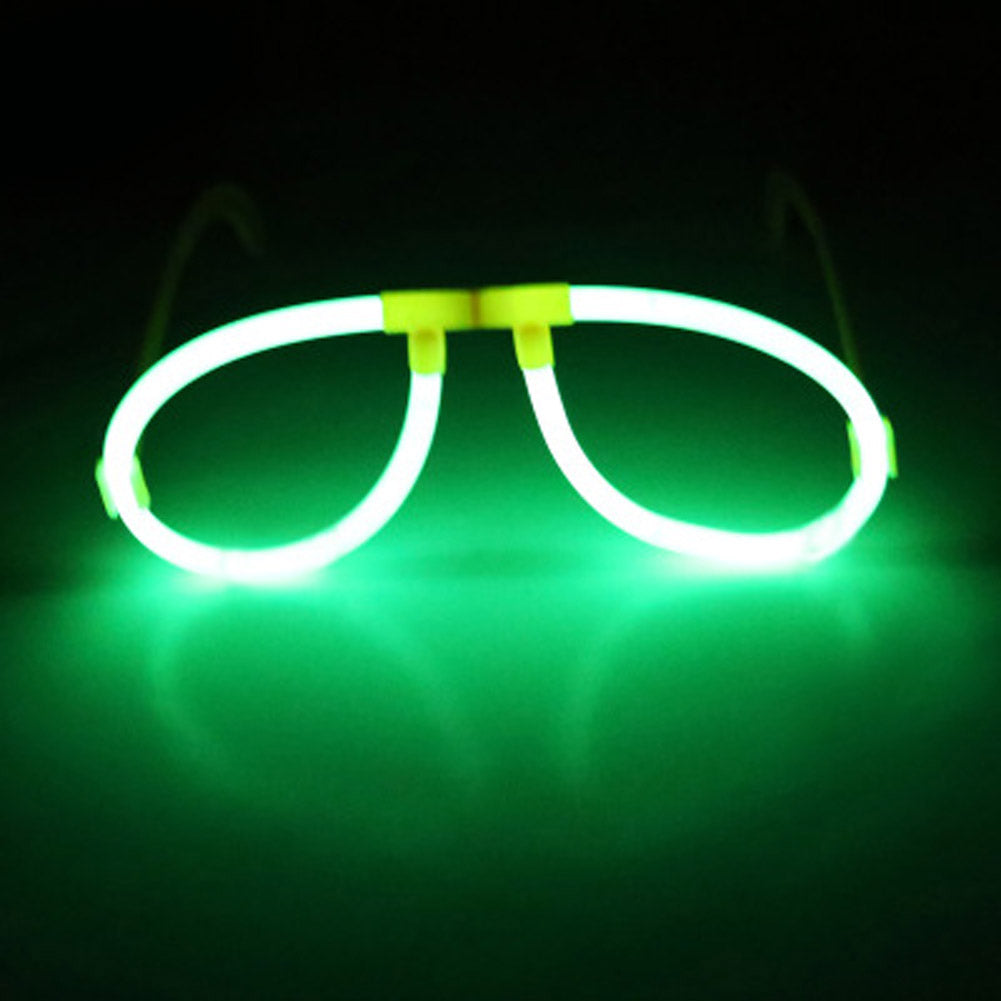 Flashing LED Skull Glasses