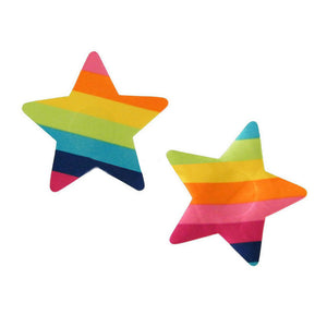 Rainbow Star Nipple Pasties