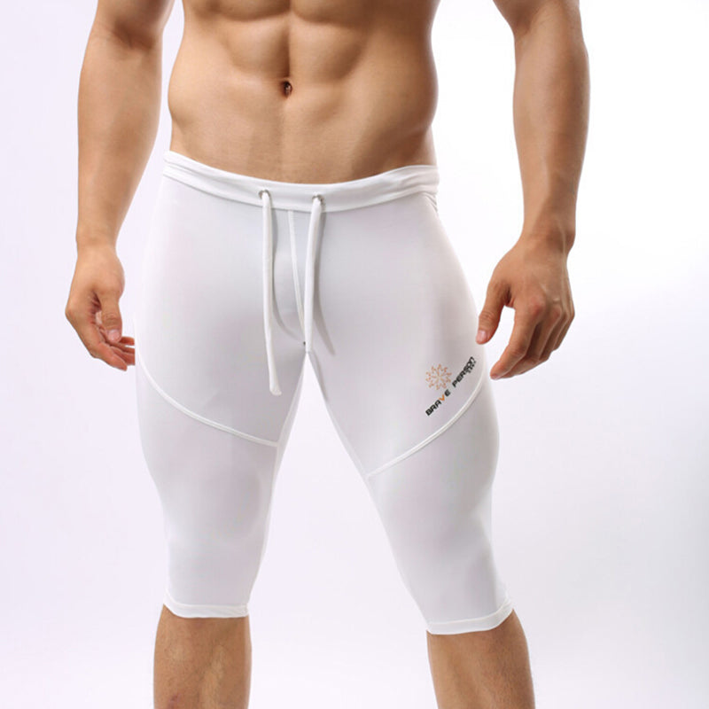Men's Mesh Shorts/Tights (Multiple Solid Colors)